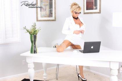 busty rachel-aziani sexy milf secretary