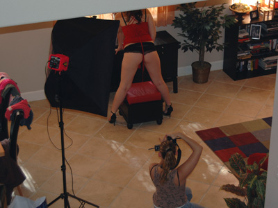 behind the scenes porn shoot. I need to ask the photographer to start ...