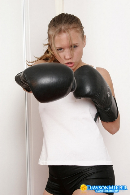dawson miller big boobs big hair naked boxing1