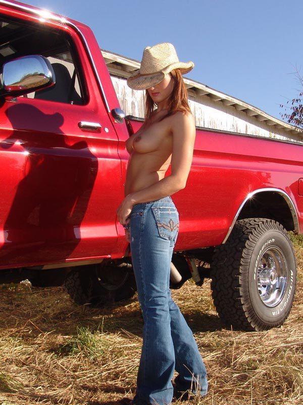 hot chicks and trucks porn