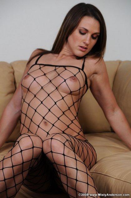 misty anderson fishnet