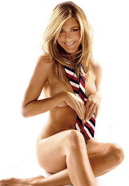 Now she's posing naked on GQ…. Well, you can't see anything, but it's still ...