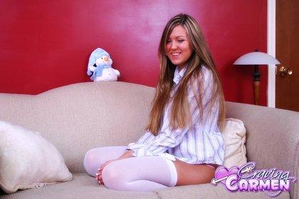 craving carmen white stockings1