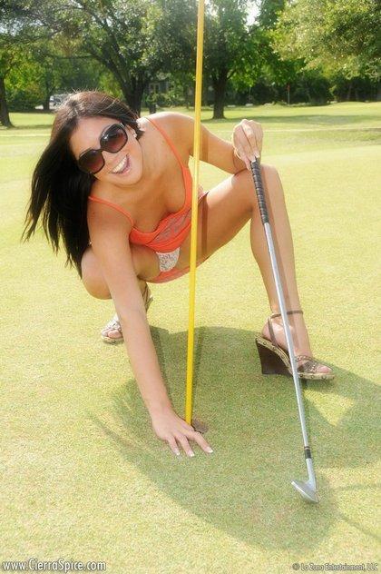 cierra spice sexy golf