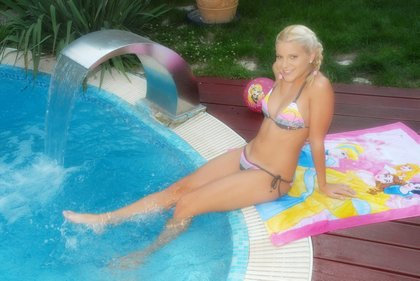 Teen Skinny Dipping. This is perfect ? a hot young blonde teen in pigtails ...