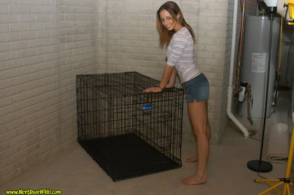 next door nikki caged animal1