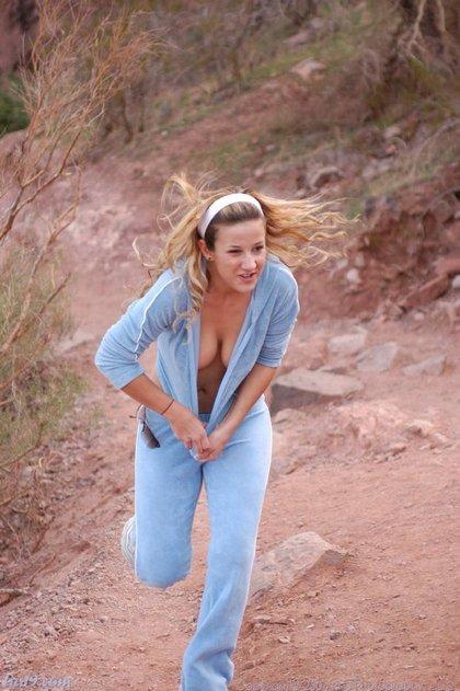 Topless Jogging Pics 32