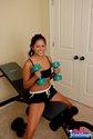 shayla jennings sexy teen workout2
