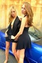 shay laren lesbian kisses sports car2