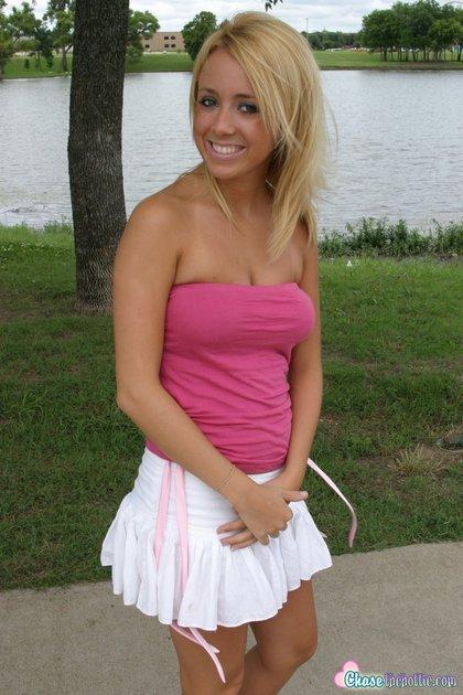 sexy blonde teen