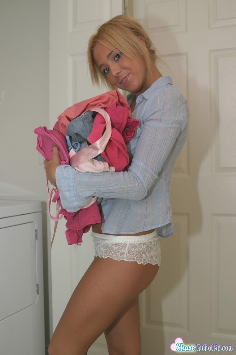 Sexy Teen Laundry 56