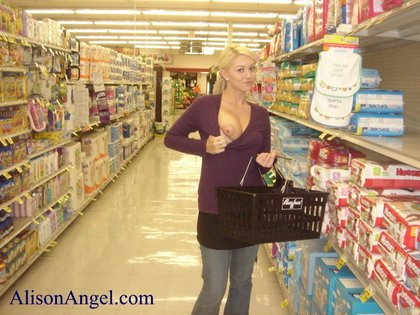 Flashing Tits Grocery Store