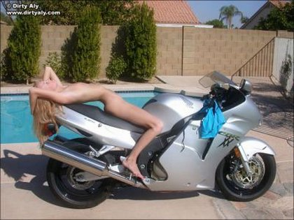 dirty aly naked motorcycle1