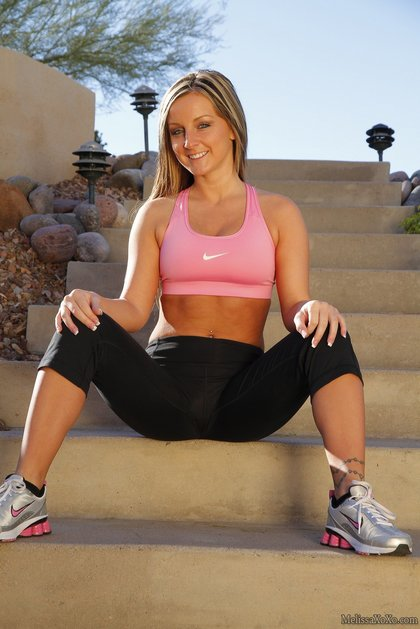 melissa xoxo workout4