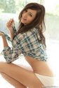 natasha bell hot teen brunette plaid11