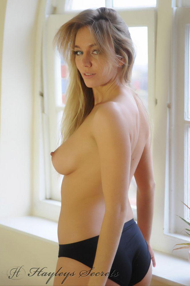 Nude men in hospital