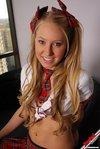 rachel sexton naughty school girl plaid skirt2