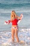 alison angel beach hottie 1