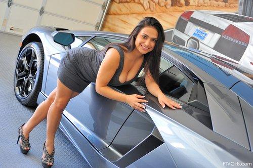 ftv girl lambo sexy tight dress 3