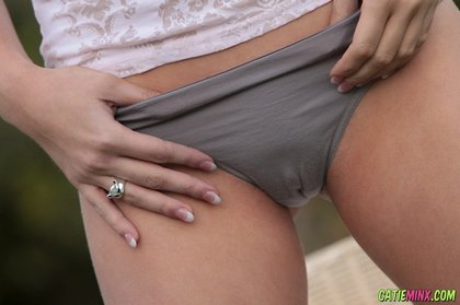 sexy catie minx panties naked teen outside 1