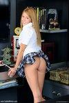 sophia wintes schoolgirl plaid skirt2