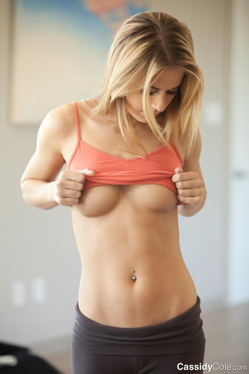cassidy cole-tight yoga pants 4