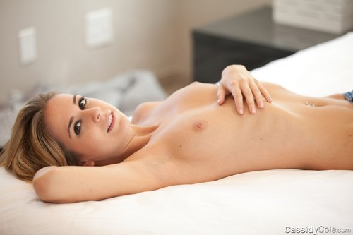 cassidy cole naked on bed 1
