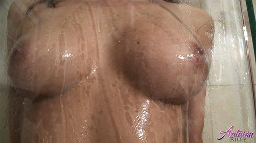 autumn riley hot shower fun 2