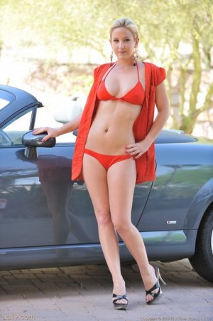 Marry her Lia 19 green bikini stepmom super